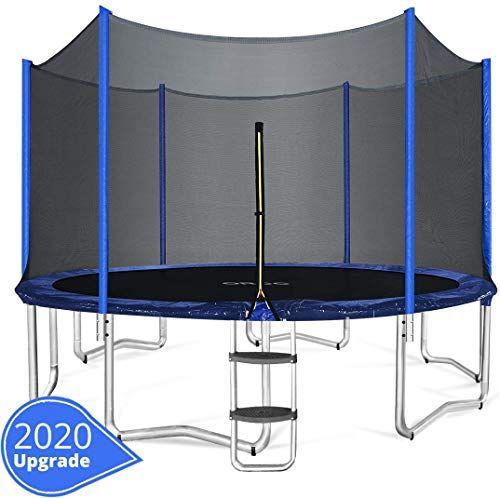 The Perfect Orcc 15 14 12 10ft Kids Trampoline T V Certificated