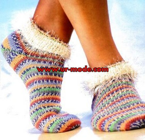 Ankle Sock Knitting Pattern : Free pattern, Ankle socks and Lace on Pinterest