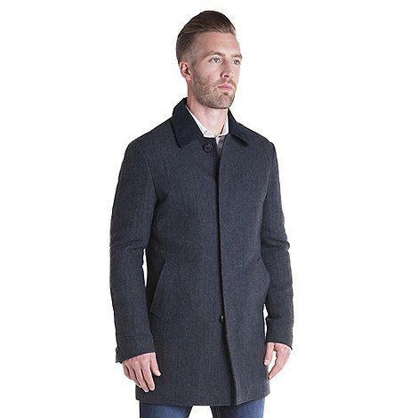 Racing Green Brody Herringbone Car Coat | Debenhams | Clothing