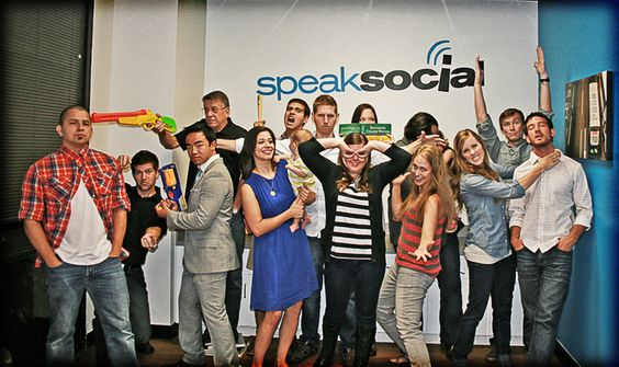 Speak Social Team ... yes, we are as awesome as we look.