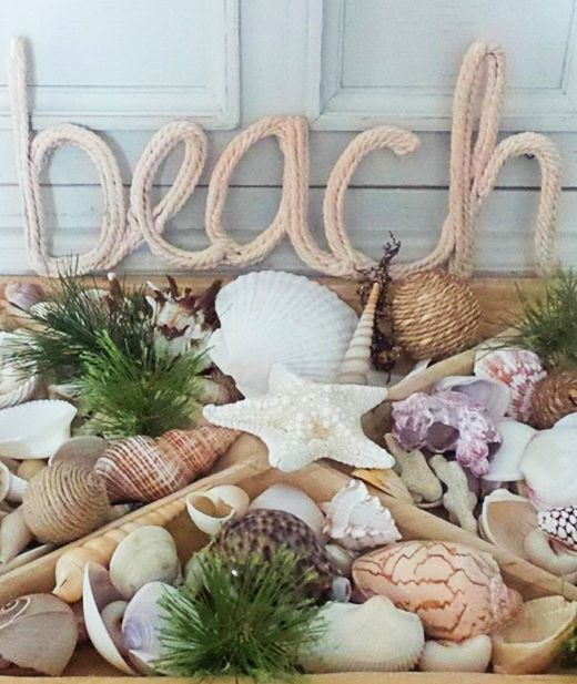 15 Vessels To Display Collected Seashells In 2020 Sea Shell Decor Sea Shells Seaside Home Decor