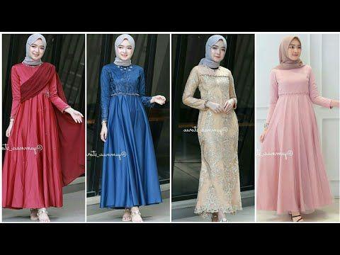 Model Baju Gamis Pesta Pernikahan Muslim Terbaru 2020 2021 Youtube Dresses Bridesmaid Dresses Fashion