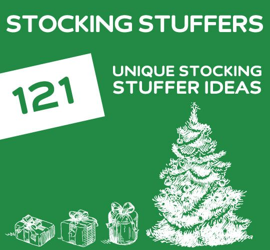 121 Unique Stocking Stuffer Ideas Awesome Unique And
