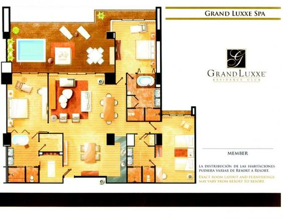 Spa Tower 3 Bedroom Layout Grand Luxxe Spa Tower