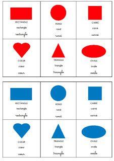 La maternelle de Laurène: Loto des formes et des couleurs