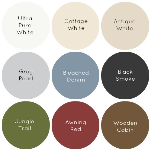 The cottage paint colors and favorite paint colors on for Farmhouse paint colors interior