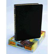 KJV Thompson Chain-Reference Bible, Large Print, Black  Genuine  Leather, Capri Grain, Thumb-Indexed