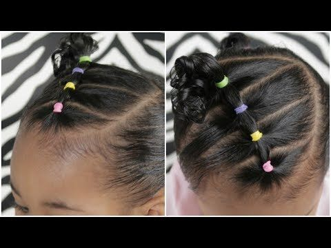 Easy 5 Minute Toddler Hairstyle Youtube Baby Hairstyles