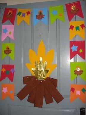 Decoração de Festa Junina para Sala de Aula: