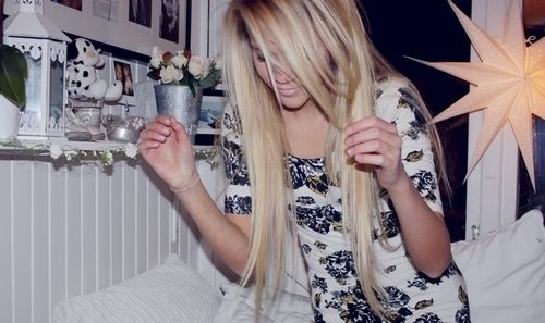 long & blonde