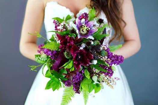 Wedding Wednesday Purple Plum Lavender Bouquets In 2020 Green Themed Wedding Purple Bridal Bouquet Bridal Boquets