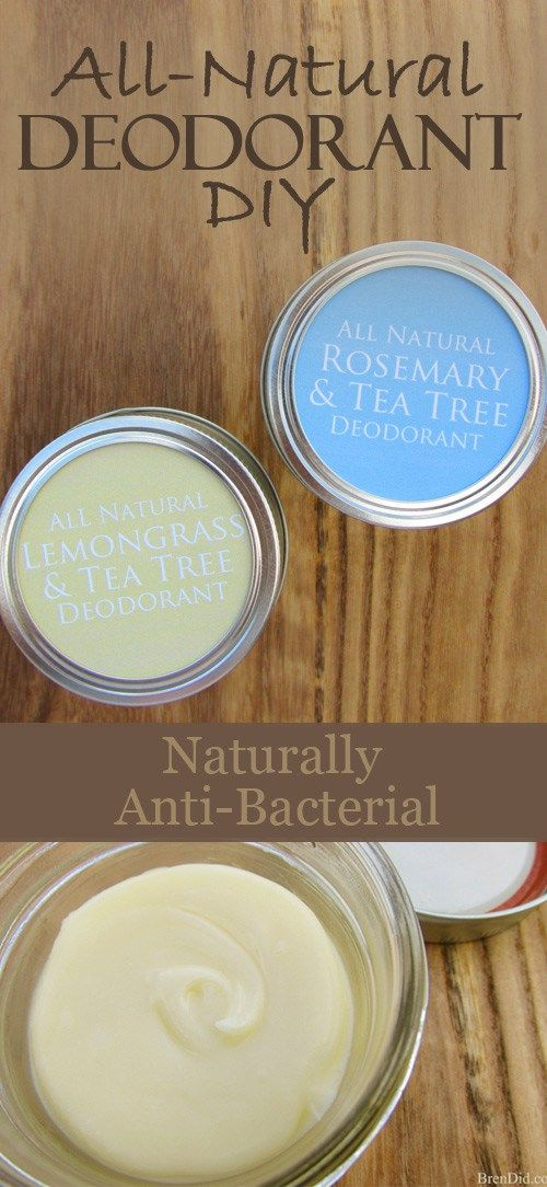 Make Your Own Natural Deodorant with Essential Oils