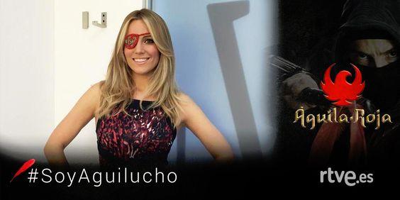 ¿Sabíais que Edurne, nuestra representante en Eurovisión, es una fan absoluta de Águila Roja? Hoy se ha unido a la parchemania.