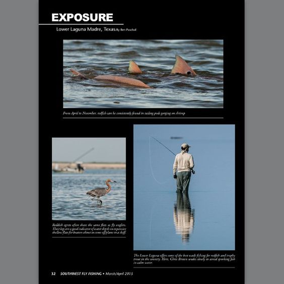 Ben Paschal - Laguna Madre Outfitters Southwest Fly Fishing Magazine 2015