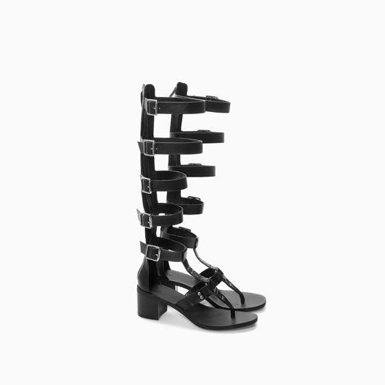 sandale spartiate montante de zara shoes pinterest zara et ps. Black Bedroom Furniture Sets. Home Design Ideas