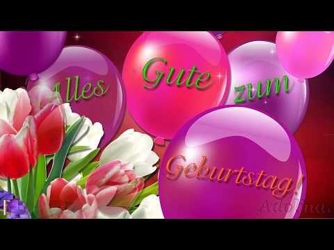 Alles Gute Zum Geburtstag Im Fruhling Youtube Alles Gute