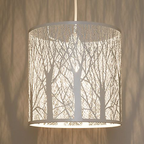Bring the enchanted forest into your house with this woodland-inspired ceiling shade.