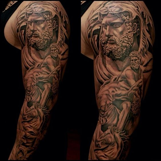 Sleeve, Religious tattoo sleeves and Tattoo sleeves on ...
