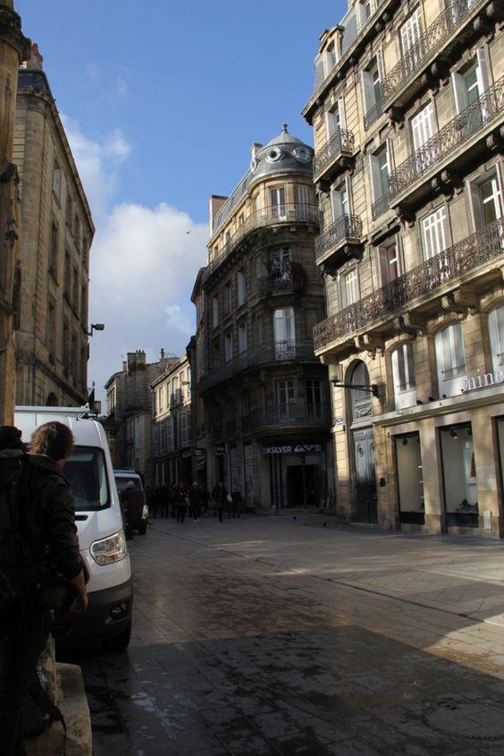 Архитектура зданий центра Бордо