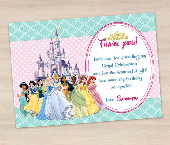 Princess Disney Invitations is awesome invitation design