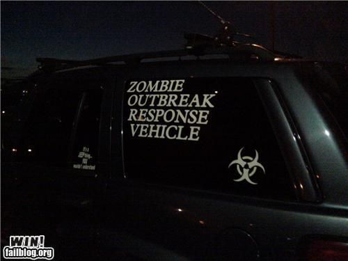 zombie response vehicle