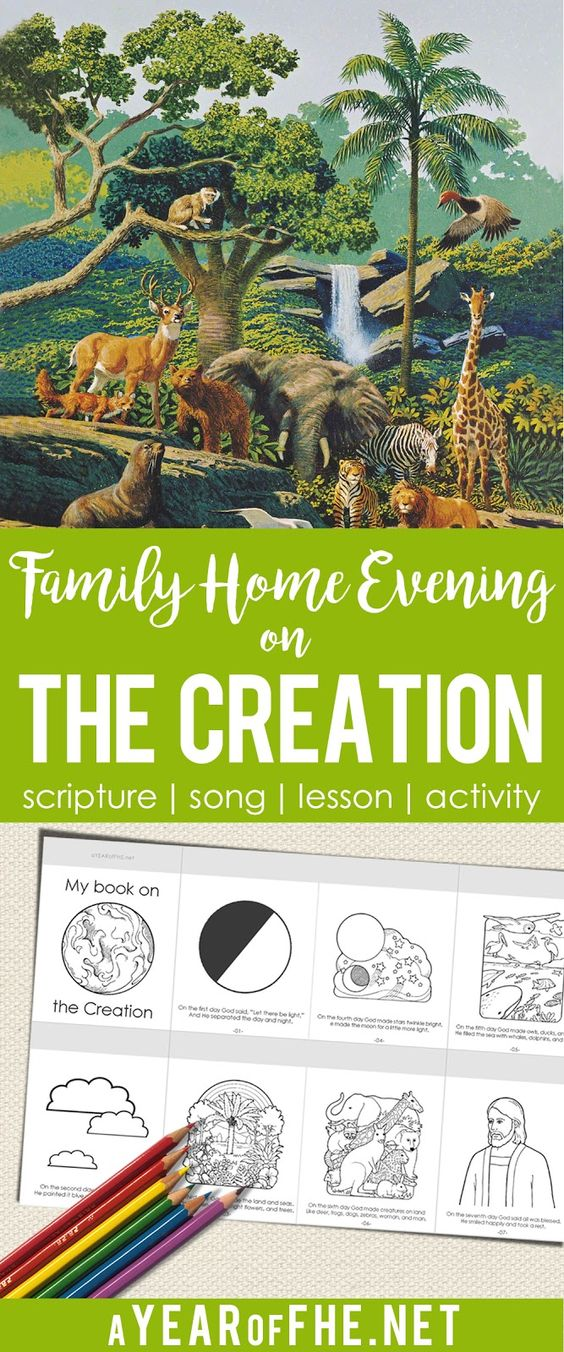 17 best images about fhe activities for kids home for Idea door family home evening