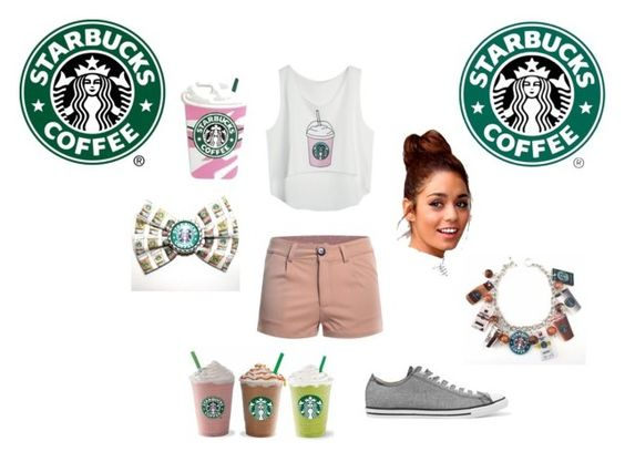 """Starbucks"" by carlavecchio123 ❤ liked on Polyvore featuring Converse"