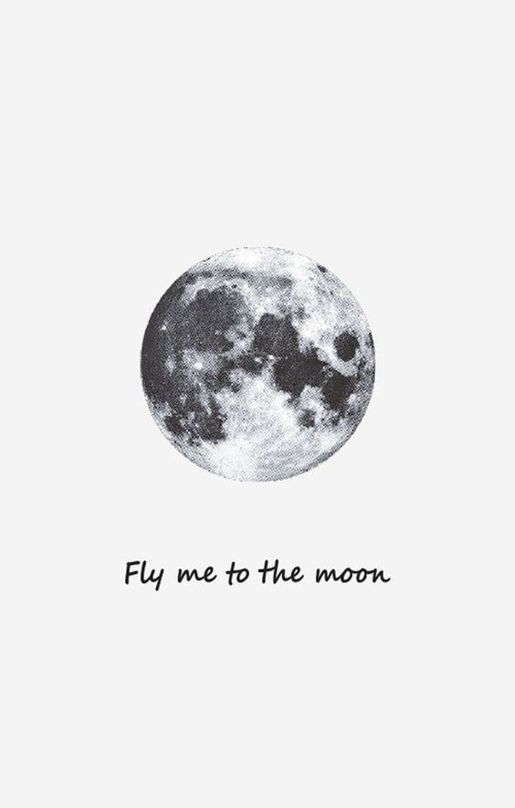 take me to the moon temporary tattoo bkbt concept. Black Bedroom Furniture Sets. Home Design Ideas