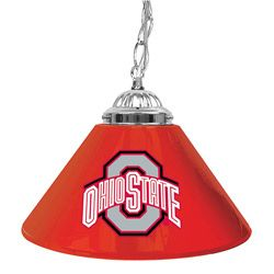 @Overstock.com - Decorate your man cave or rec room with one of these fantastic hanging bar lights. Emblazoned with the Ohio State logo, this light is a hit with Buckeyes fans everywhere. With three feet of chain, it can hang at the right level for your room.http://www.overstock.com/Sports-Toys/Ohio-State-14-inch-Hanging-Light-Bar-Lamp/3916087/product.html?CID=214117 $45.99