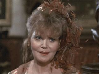 "And of course we can't forget Mrs. Peacock from the film ""Clue"" Eileen Brennan."