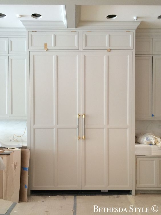 Bethesdastyle lobkovich miele refrigerator and - Miele kitchen cabinets ...