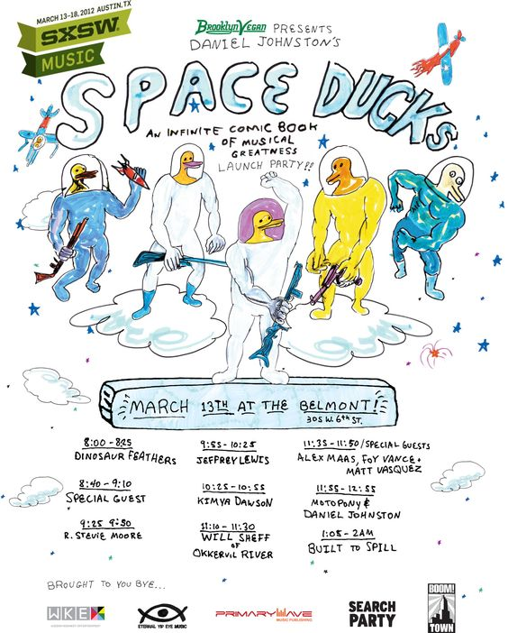 Space Ducks at SXSW!!   (a pinterest premiere)