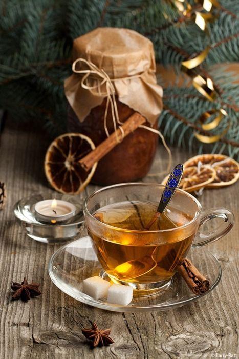 Christmas Tea,  by Larina Natalia