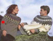 Dame sweater 18-40