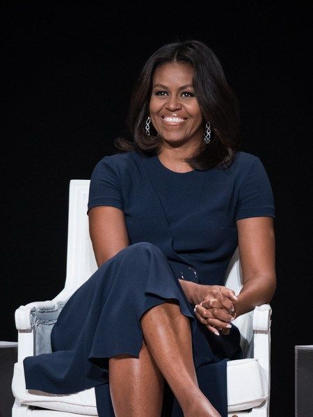 "First Lady Michelle Obama joins the ""Let Girls Learn"" Global Conversation at The Apollo Theater in New York City, 9/29/15"