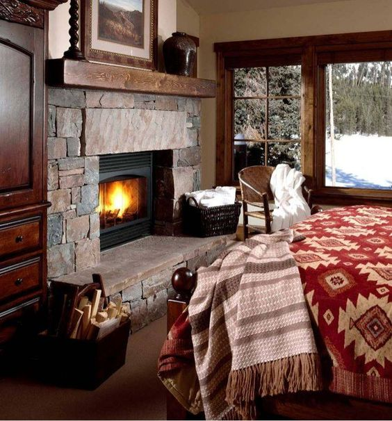 master bedroom fireplaces warm and mantles on 12274