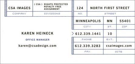 CSA Card
