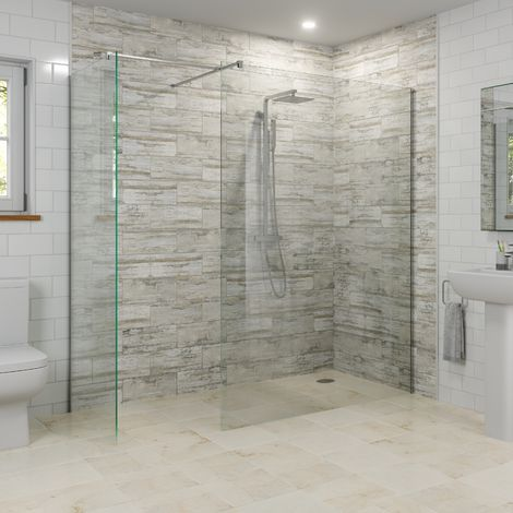 Modern 1400mm 700mm Wet Room Screens Walk In Enclosure 8mm Safety Glass Panels 8wi1470nr In 2020 Wet Room Shower Wet Room Shower Screens Walk In Shower Enclosures
