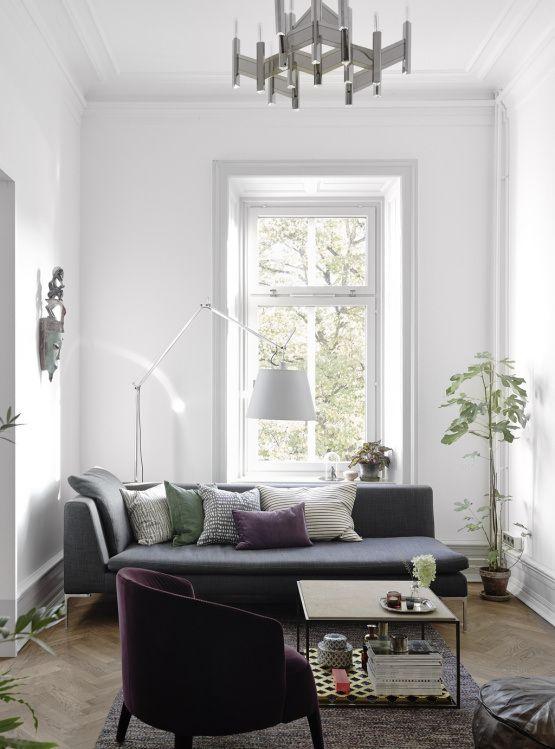 sofas nordicos sofas grises blancos negros Muebles de diseño ...