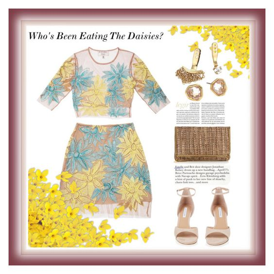"""""""Who's Been Eating The Daisies?"""" by onesweetthing on Polyvore featuring Nasty Gal, Diane Von Furstenberg, STELLA McCARTNEY and Alexis Bittar"""