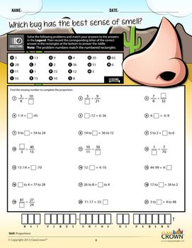 Worksheet Riddle Math Worksheets the ojays math and fun worksheets on pinterest ratios percents riddles grade common core