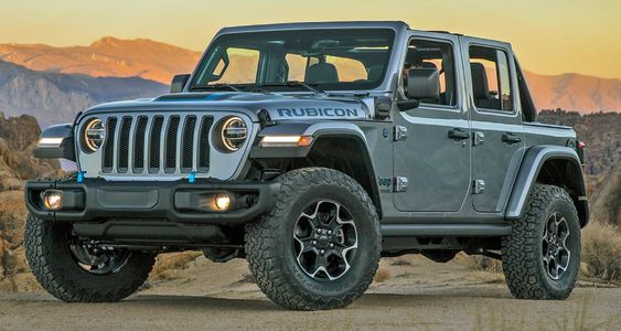 جيب رانغلر 4 أكس إي الجديدة كليا 2021 سيارة الدفع الرباعي الكهربائية الهجينة العالمية الرائدة موقع ويلز Jeep Monster Trucks Jeep Wrangler