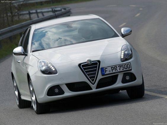 Alfa Romeo Giulietta White Color Car Images - Car Picture Collection
