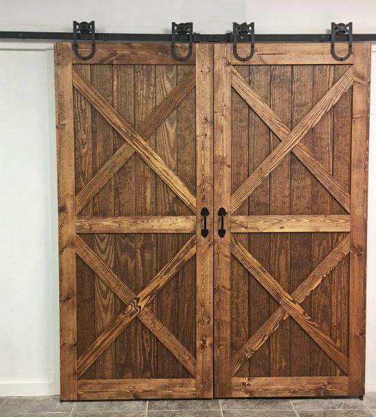 Jeld Wen 36 In X 84 In Rustic Unfinished Wood Sliding Barn Door