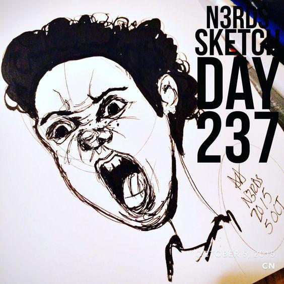 #sketchaday #artlove #penandink #nerds #sketchbook #sketch_daily #artnerd #acompanyofn3rds #dopeart #imayneednewglasses  #art_boost #n3rds #blerds #geeks #illustration #arts_help #artists_community  #Iamanartist