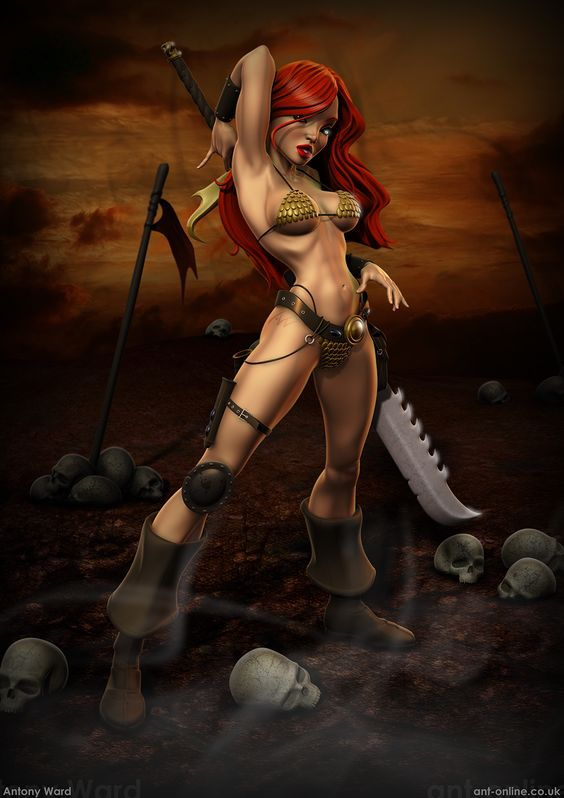 "Red Sonja.... 3d with ""The Girl"" as model?"