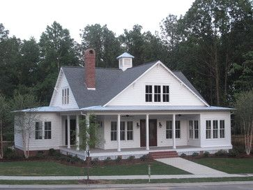 Farmhouse House Plans Wrap Around Porches 3 653 Farm
