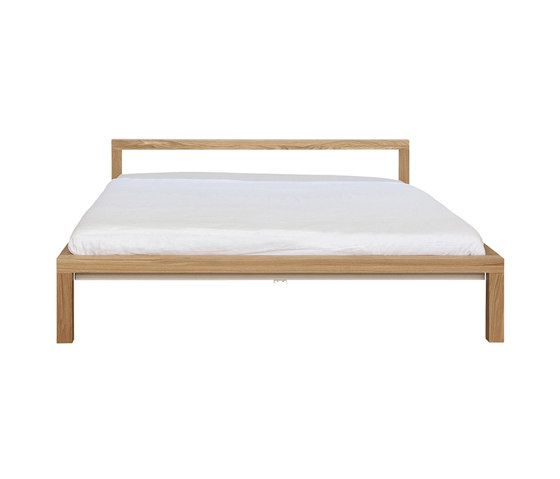 Pure Solid Oak Bed Frame H 696 Em H 698 Em Architonic In 2020