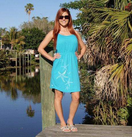 Shore Side Strappy Dress