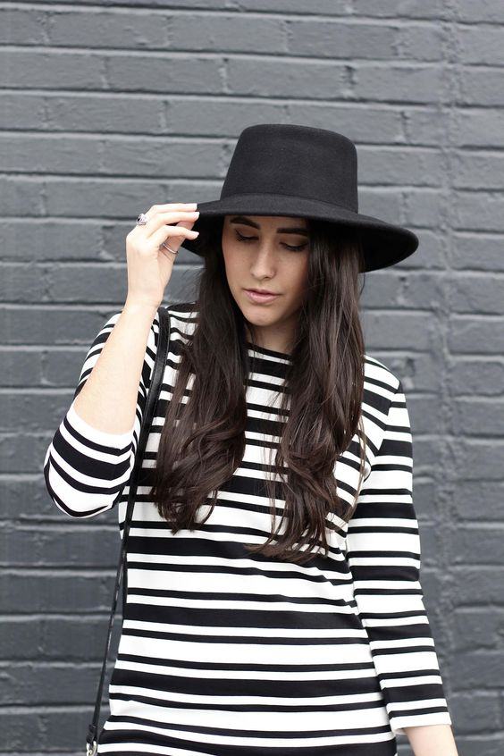 forever 21 black hat